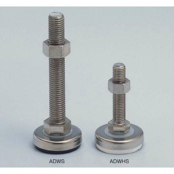 ランプ印 ステンレス鋼製 アジャスター ADWHS型 ADWHS40-8-60 200-140-620