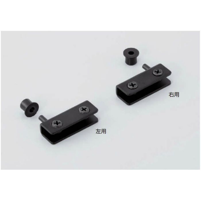 軸吊ガラス丁番 GPH型 インセット扉用(左用) GPH-41HL-G 170-080-031