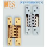 ランプ印 建築ドア用隠し丁番 HES-3038BK型 HES-3038BK SC 170-091-015