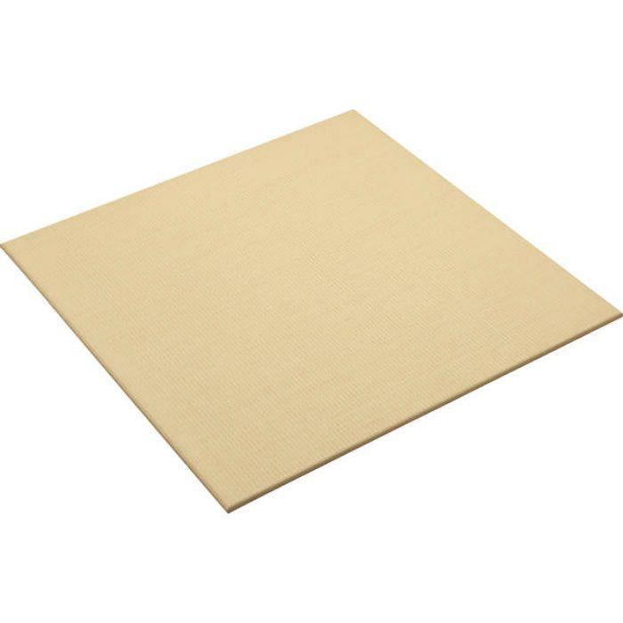 【5%OFF】YQ5003-2 03アイボリー(乳白色×白茶色) ここち和座 敷き込みタイプ 彩園 インテリア畳 2枚/ケース