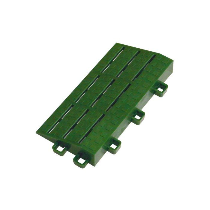 サポートマット 中フチ- グリーン 21mm×75mm×150mm