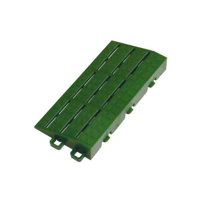 ブラシマットD 中フチ+ グリーン 21mm×75mm×150mm