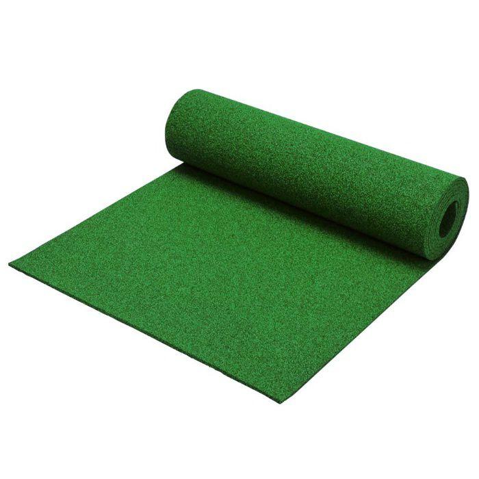 クッションマット カラー グリーン 5mm×1m×5m