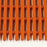 セーフティマット ハードタイプ オレンジ 約13mm×910mm×6m