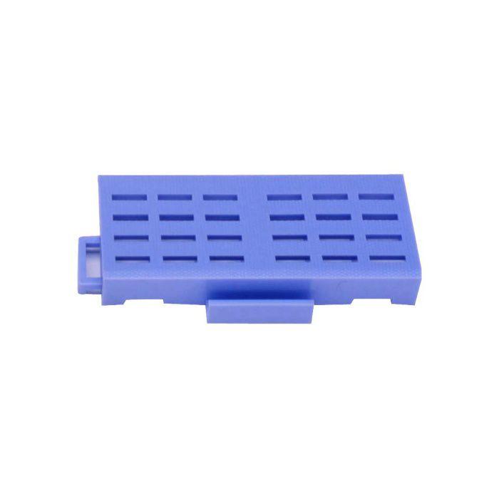 カラースノコジョイントRE 中フチ+ ブルー 25mm×75mm×150mm
