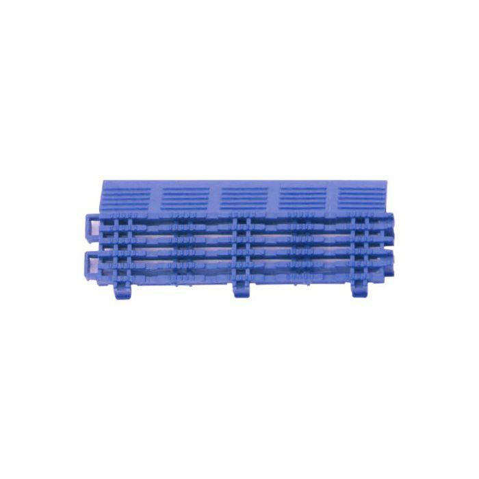 チェックチェッカー 中フチ+ ブルー 15mm×65mm×150mm