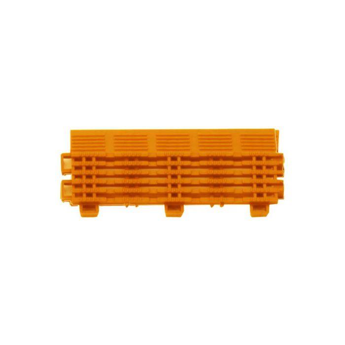 チェックチェッカー 中フチ- オレンジ 15mm×65mm×150mm