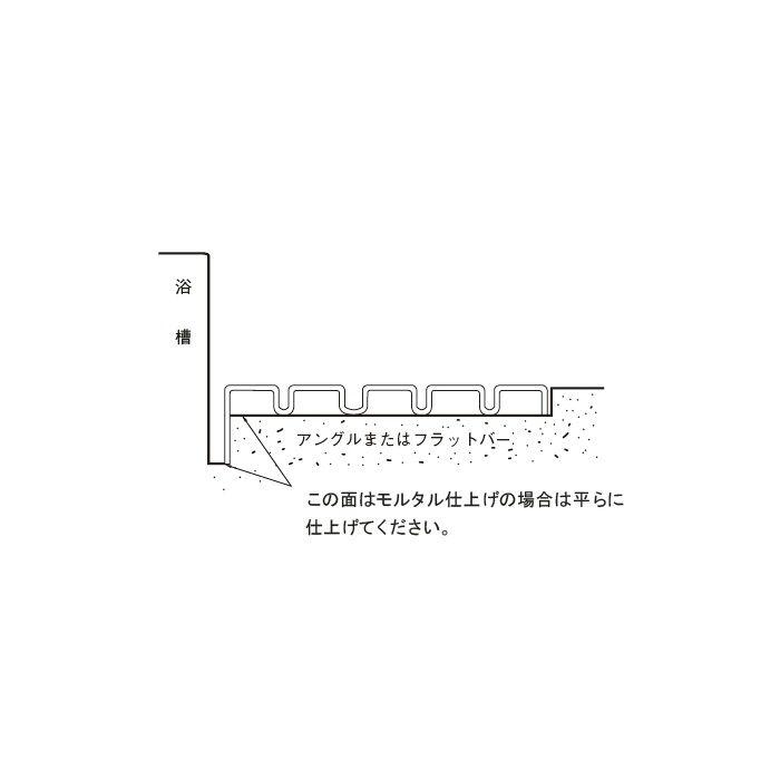 【5%OFF】浴室用すの子 431-206 グレー 20枚/ケース