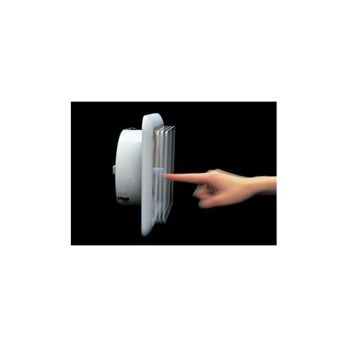 ワンタッチ風量調整型換気孔 KRP 150BWF 313-286 クールホワイト 18個/ケース