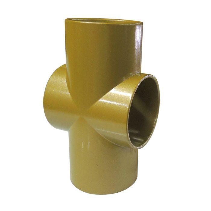 フリージョイント手すり クロス35 456-712 ゴールド(G) 10個/ケース