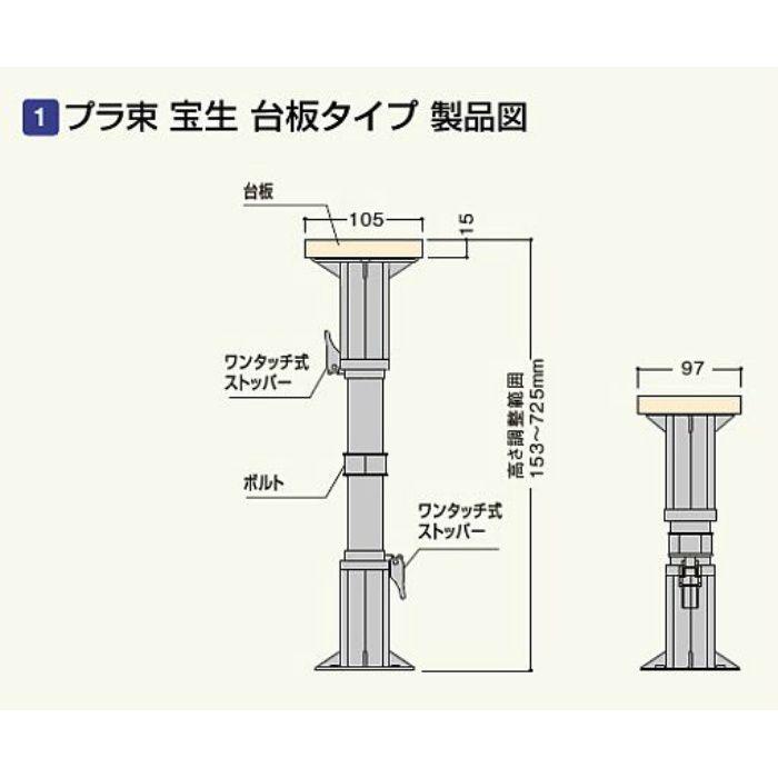 プラ束宝生 305G PR-SD