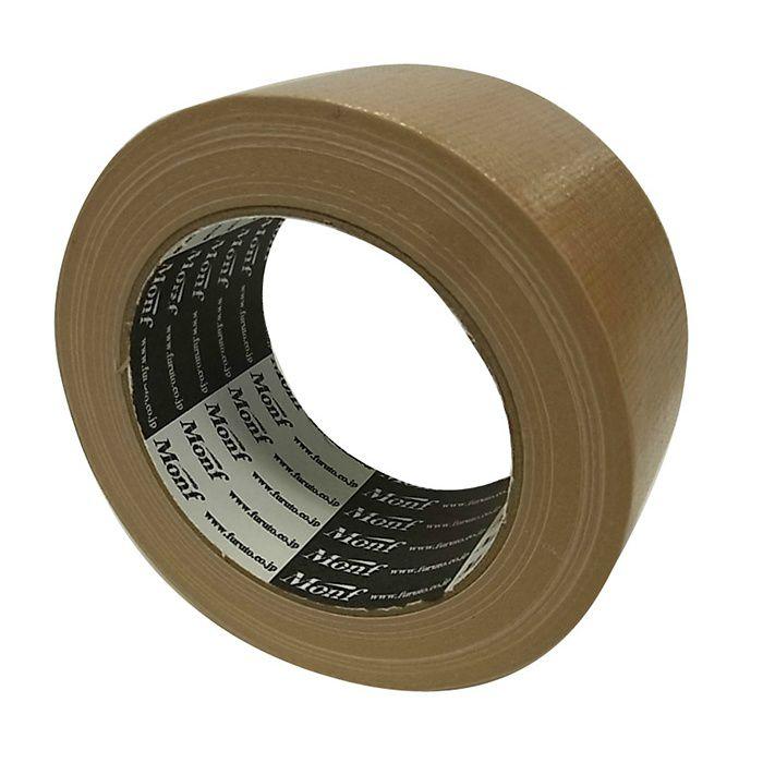 【ロット品】 梱包用布粘着テープ No.8015 厚み 0.2mm×幅 50mm×25m巻 3ケース/セット