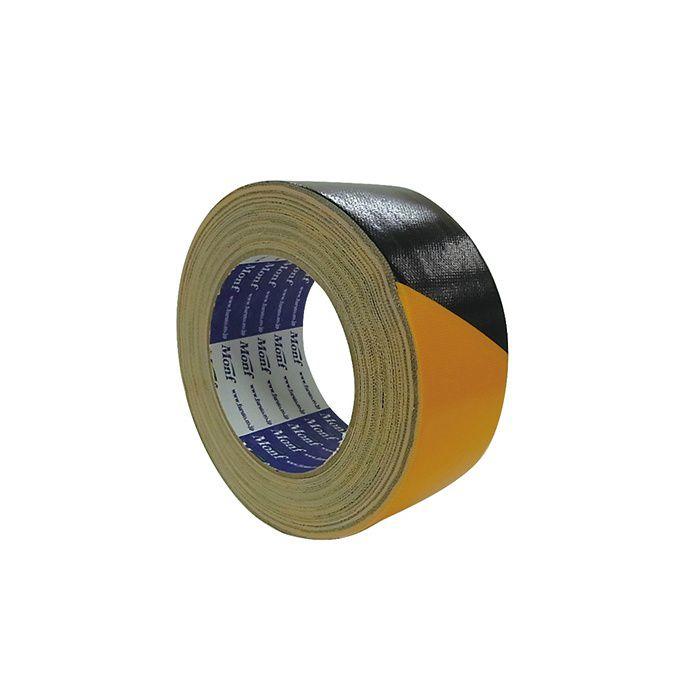 【ロット品】 安全表示用布粘着テープ No.860 幅 50mm×25m巻 3ケース/セット
