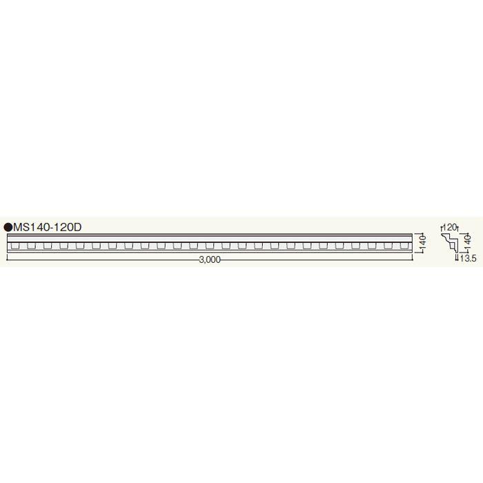 MS14012 クラシカルEXA MS140-120D ホワイト