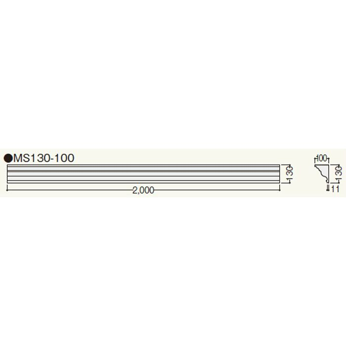 MS13010 クラシカルEXA MS130-100 ホワイト