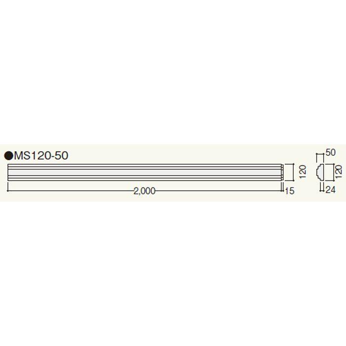 MS12050 クラシカルEXA MS120-50 ホワイト