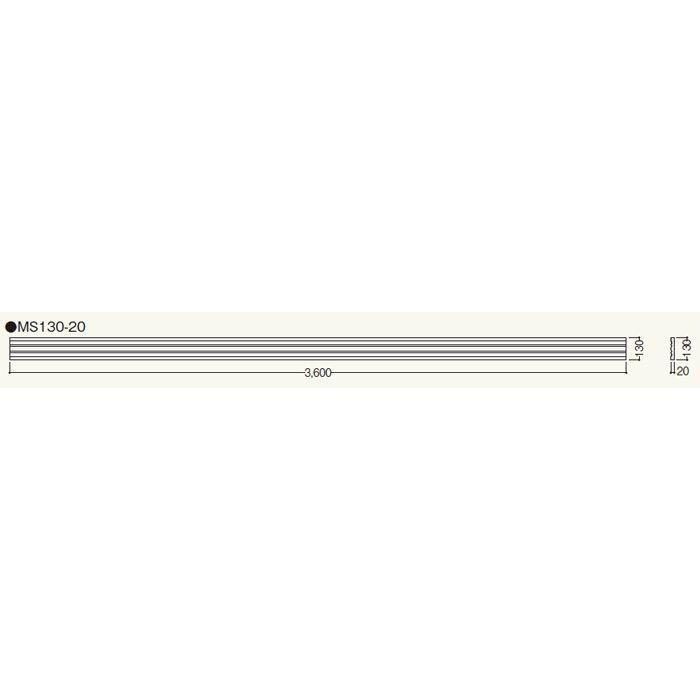 MS13020 クラシカルEXA MS130-20 ホワイト