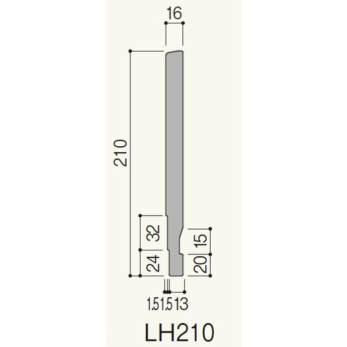LH21WY セミックス破風板LH210 ホワイトY