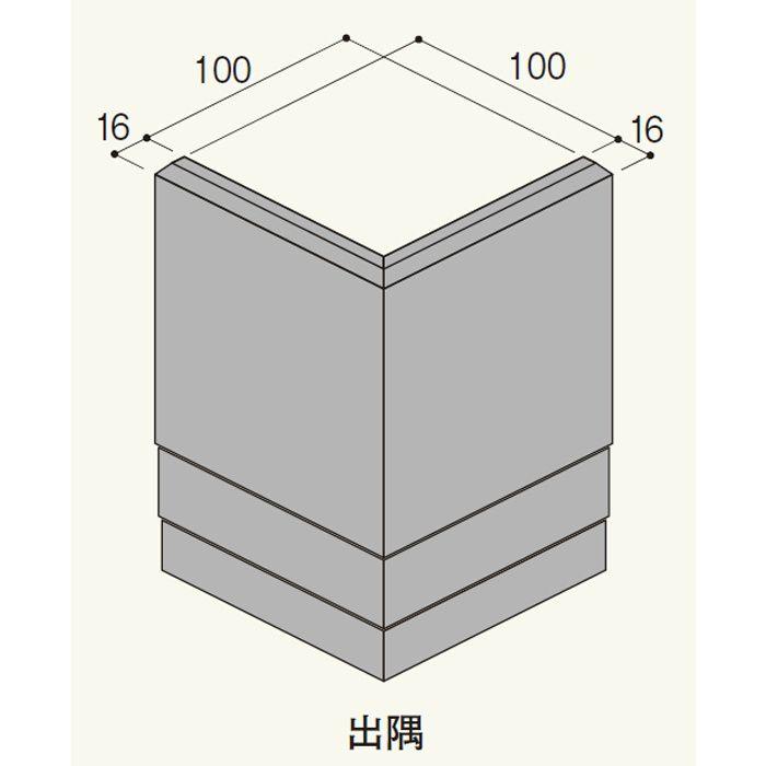 LH18DEY セミックス破風板LH180出隅 ペールベージュY 2個/ケース