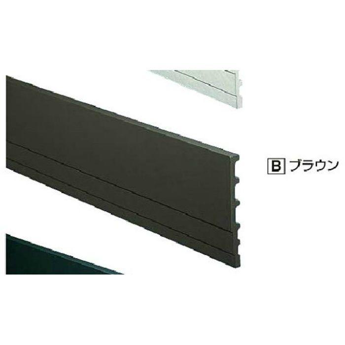 H18BD セミックス破風板H180出隅 ブラウン 2個/ケース