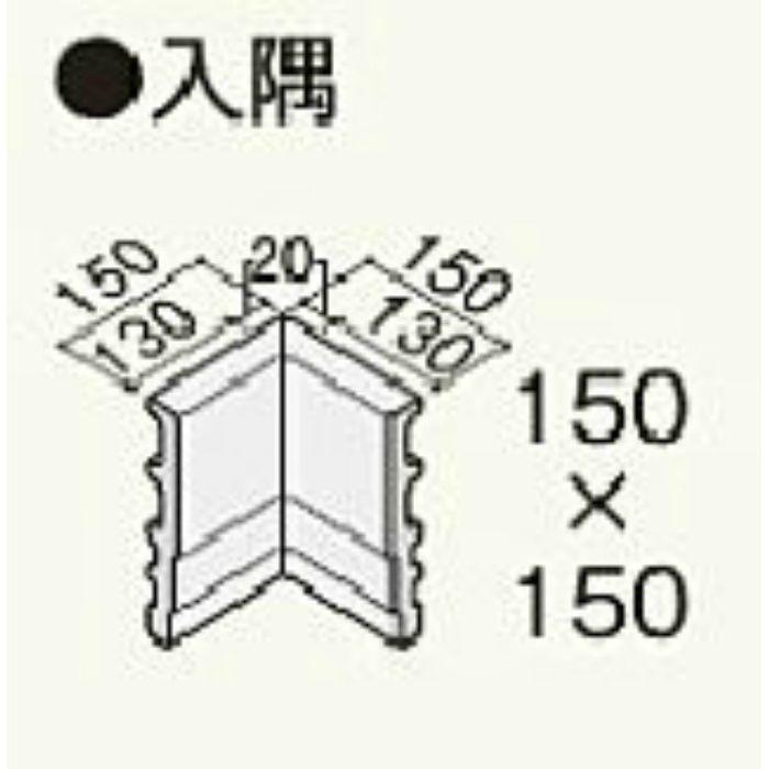 H18BN セミックス破風板H180入隅 ブラウン 2個/ケース