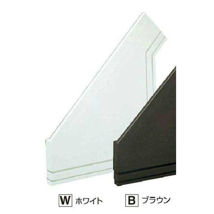TES18WL セミックス破風納めTES180L ホワイト
