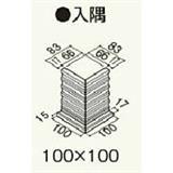 PJ8PMN セミックス破風板 PJ240入隅 木目ピニー 2個/ケース