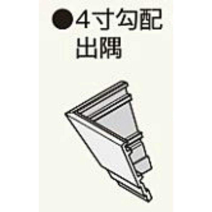 MH24CDP コンパルソリー木目破風板A型180 4寸勾配出隅 ピニーマサ 2個/ケース