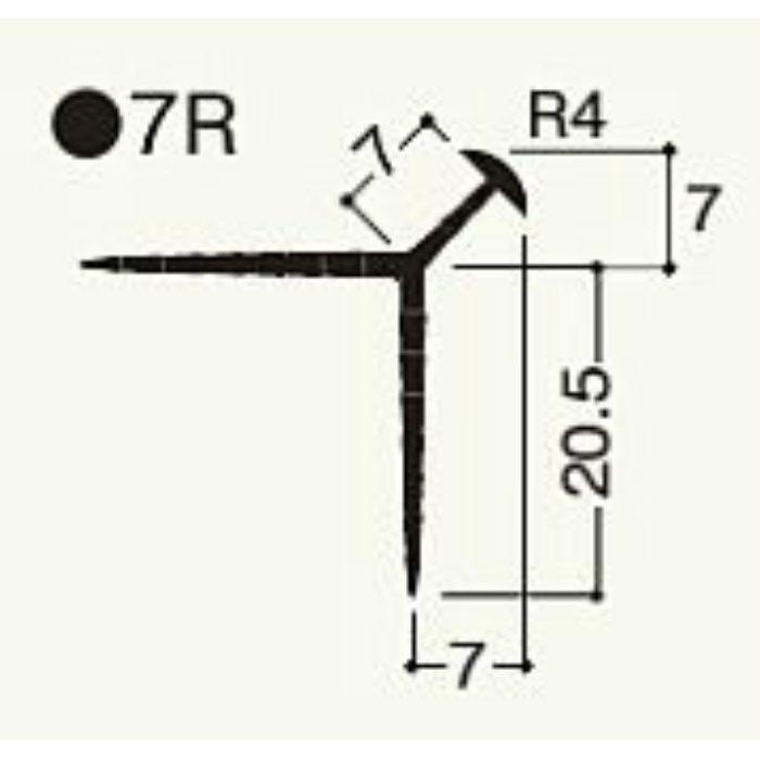 NT7RW1 ニューツーウェーコーナー 定木 7R シロ 100本/ケース