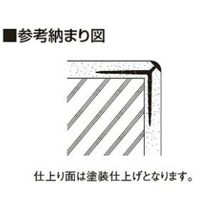 NT10RN1 ニューツーウェーコーナー 定木 10R ウスネズミ 100本/ケース