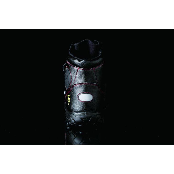 KZS-903 ブラック 27.0cm セーフティハーフ (静電・マジック)