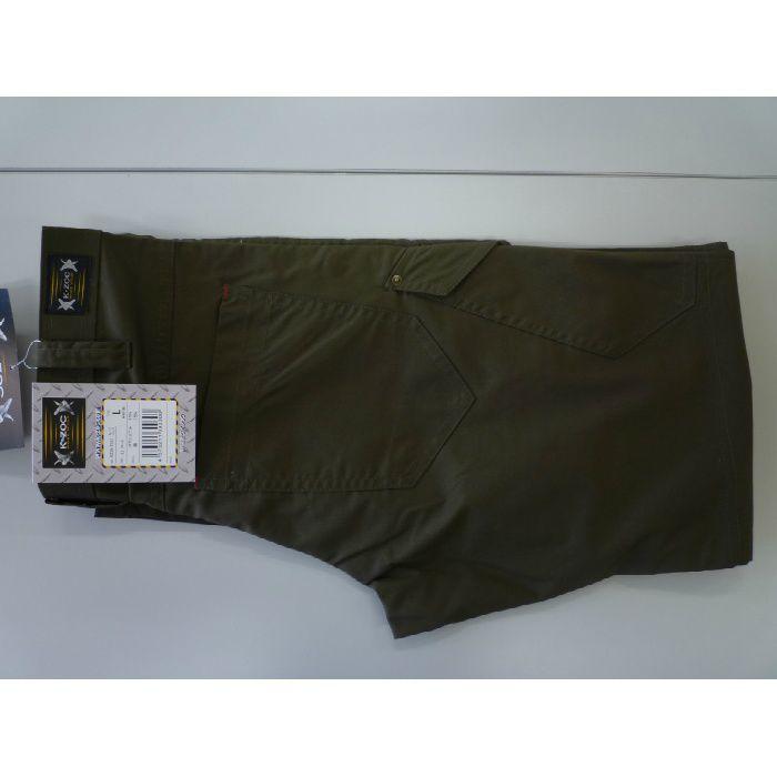 KZW-5563 カーキ M ノータックカーゴパンツ