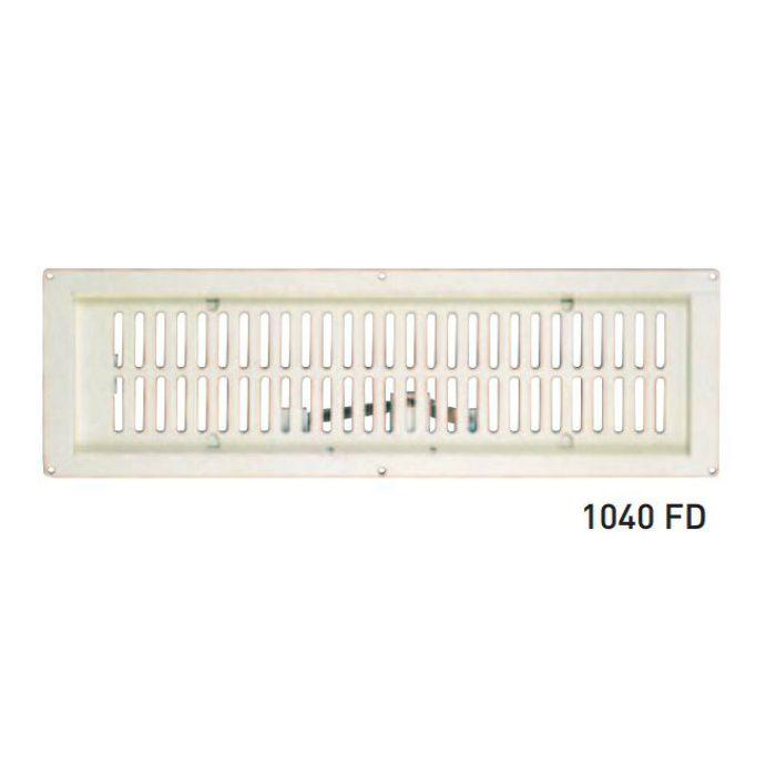 鉄 軒天換気グリル AW-1040FD アイボリーホワイト 10枚/ケース