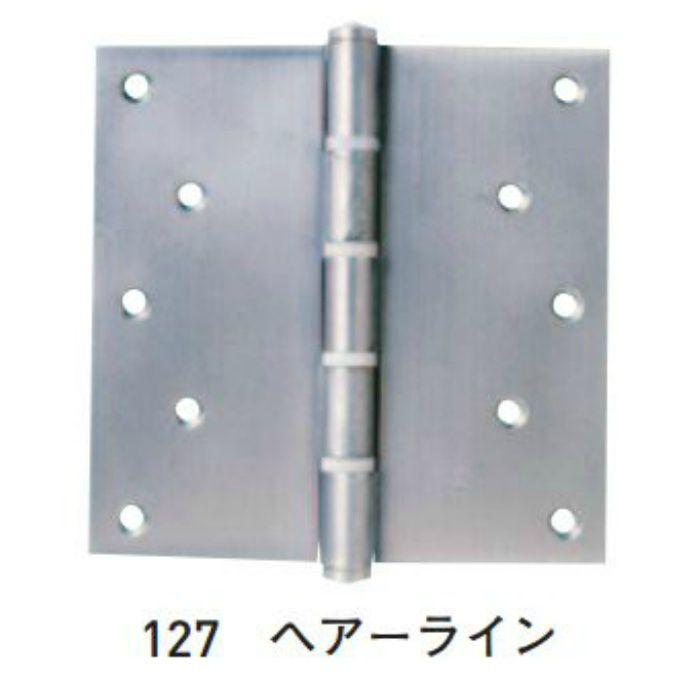 SUS義星丁番 127x127x2.5 4つリング入 60枚/ケース