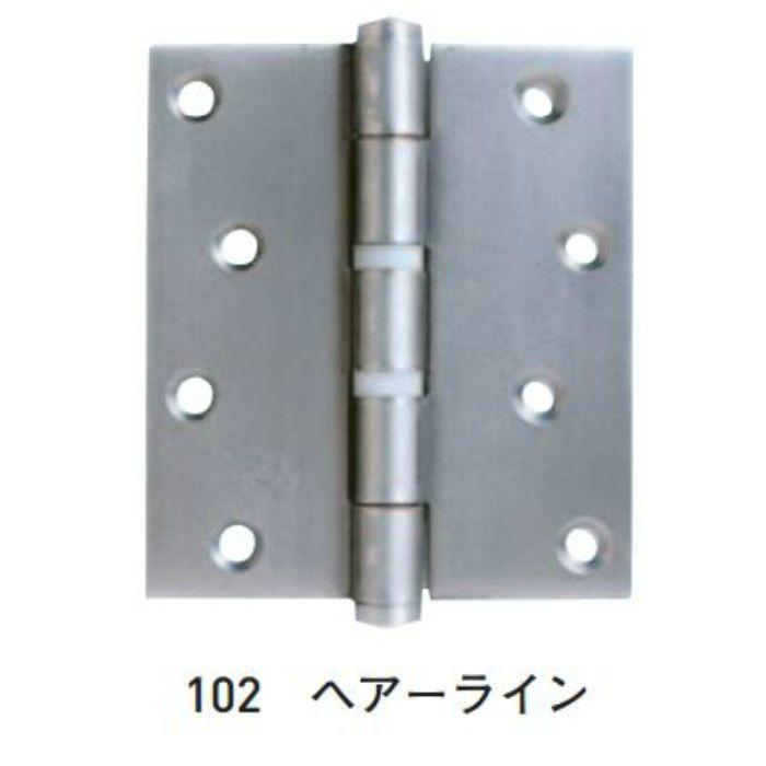 SUS義星丁番 102x89x2.5 2つリング入 100枚/ケース