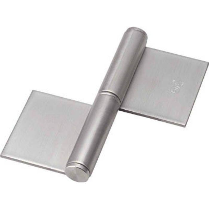 ステンレス製特厚溶接旗蝶番 右用 全長76mm 5127939