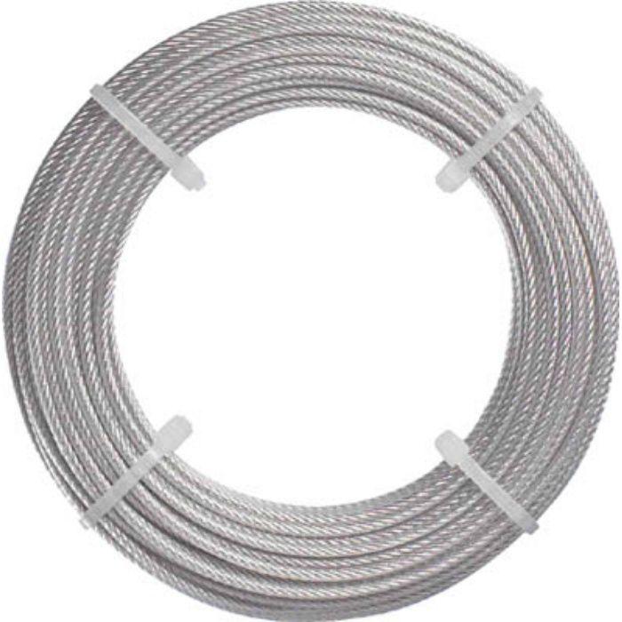 ステンレスワイヤロープ Φ1.5mmX20m 2134551