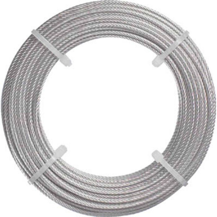 ステンレスワイヤロープ Φ2.0mmX20m 2134586