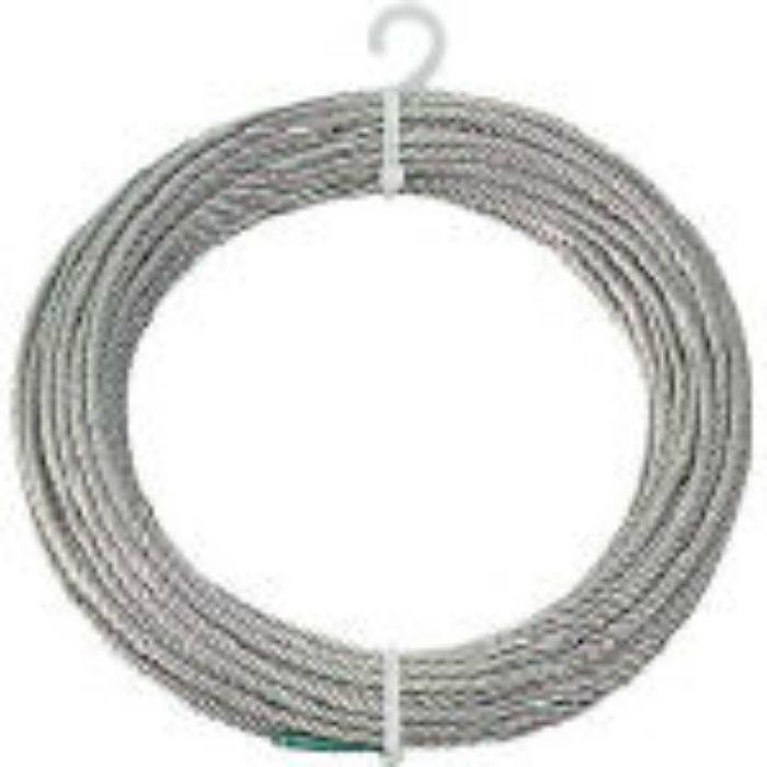ステンレスワイヤロープ Φ3.0mmX10m 2134802