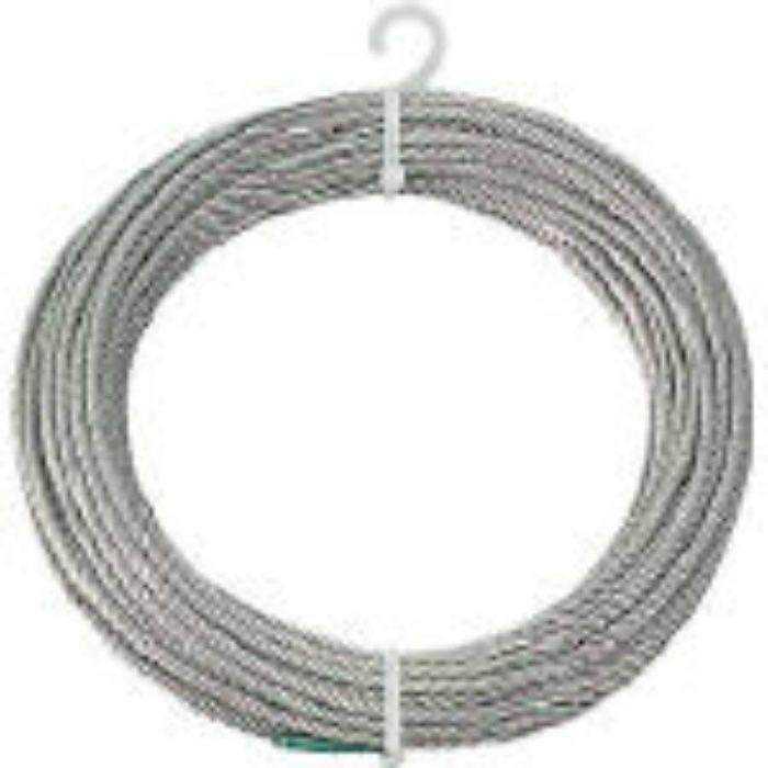 ステンレスワイヤロープ Φ4.0mmX10m 2134837