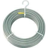 ステンレスワイヤロープ Φ6.0mmX100m 4891503