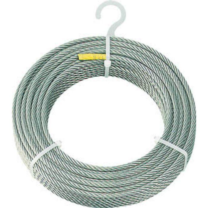 ステンレスワイヤロープ Φ6.0mmX200m 4891511