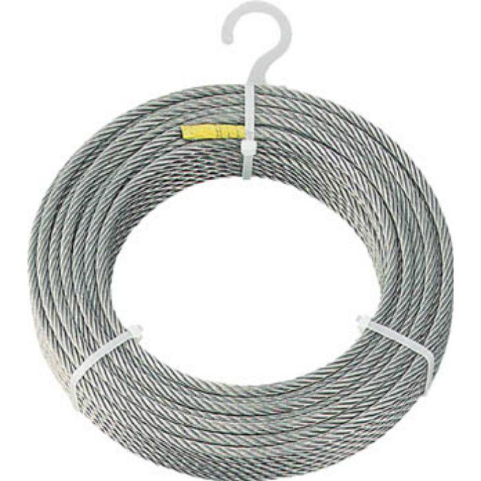 ステンレスワイヤロープ Φ6.0mmX30m 2134888