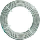 ステンレスワイヤロープ ナイロン被覆 Φ1.0(1.5)mmX10 4890850