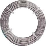 ステンレスワイヤロープ ナイロン被覆 Φ1.0(1.5)X20m 2134730