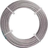 ステンレスワイヤロープ ナイロン被覆 Φ2.0(2.5)X20m 2134799