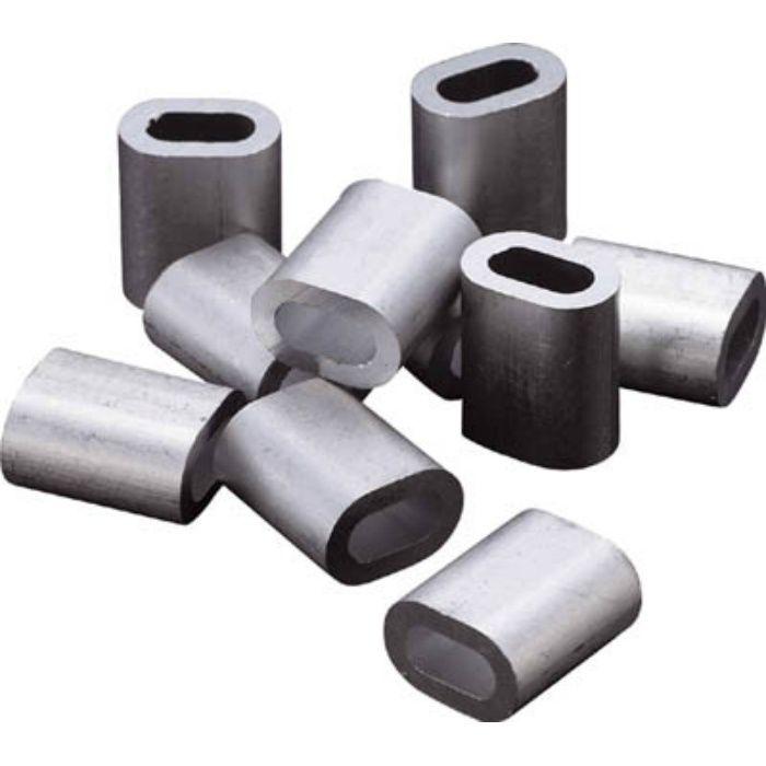 アルミスリーブ 適合ワイヤ径4.0mm 10個入 2222302