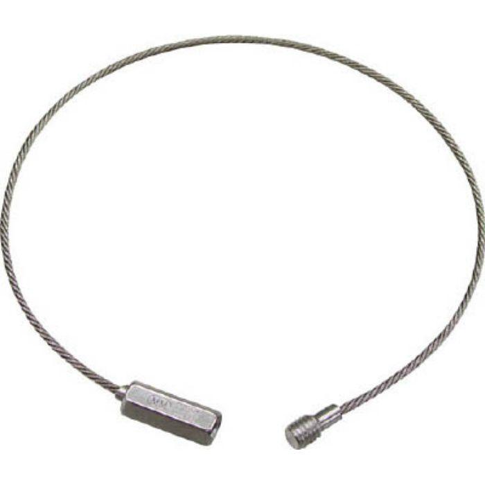 ワイヤーキャッチ ステンレス製 線径3mmX0.20m 3804135
