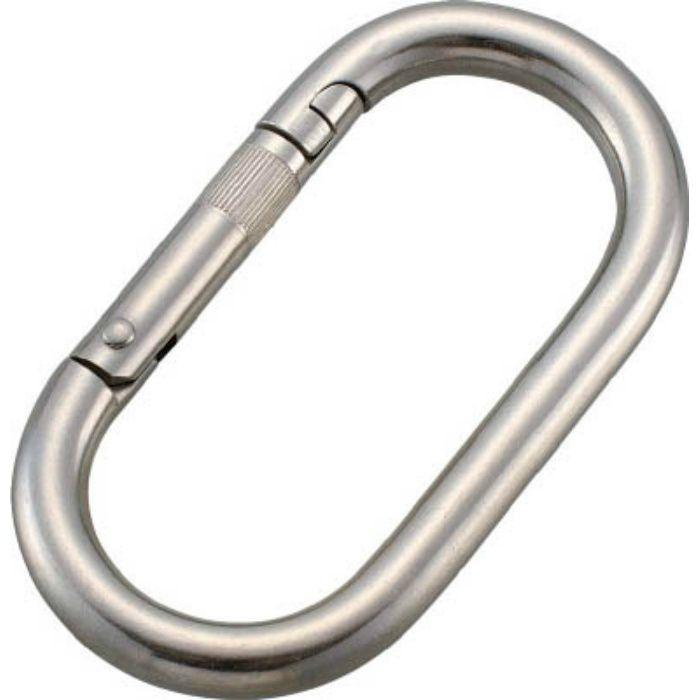 ステンレス カラビナ(環なし) 10mm 4315898