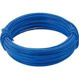 カラー針金 小巻タイプ・20番手 青 線径0.9mm 2825228
